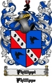 Thumbnail Phillippi Family Crest  Phillippi Coat of Arms Digital Download
