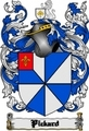 Thumbnail Pickard Family Crest  Pickard Coat of Arms Digital Download