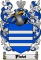 Thumbnail Piedot Family Crest  Piedot Coat of Arms Digital Download