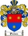Thumbnail Pierson Family Crest  Pierson Coat of Arms Digital Download