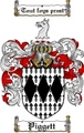 Thumbnail Piggett Family Crest  Piggett Coat of Arms