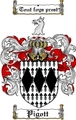 Thumbnail Pigott Family Crest  Pigott Coat of Arms