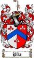 Thumbnail Pike Family Crest  Pike Coat of Arms Digital Download