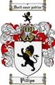 Thumbnail Pillips Family Crest  Pillips Coat of Arms