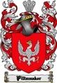 Thumbnail Piltzmaker Family Crest  Piltzmaker Coat of Arms Digital Download