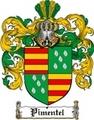 Thumbnail Pimentel Family Crest  Pimentel Coat of Arms