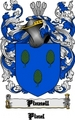 Thumbnail Pinnell Family Crest  Pinnell Coat of Arms Digital Download