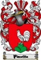 Thumbnail Piscoitta Family Crest  Piscoitta Coat of Arms Digital Download