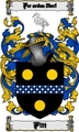 Thumbnail Pitt Family Crest  Pitt Coat of Arms Digital Download