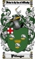 Thumbnail Pittenger Family Crest  Pittenger Coat of Arms Digital Download