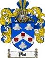 Thumbnail Plat Family Crest  Plat Coat of Arms