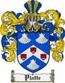 Thumbnail Platte Family Crest  Platte Coat of Arms
