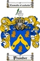 Thumbnail Plumber Family Crest  Plumber Coat of Arms