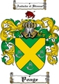 Thumbnail Poage Family Crest  Poage Coat of Arms