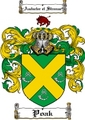 Thumbnail Poak Family Crest  Poak Coat of Arms