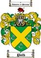 Thumbnail Polk Family Crest  Polk Coat of Arms Digital Download