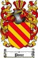 Thumbnail Ponce Family Crest  Ponce Coat of Arms Digital Download