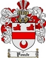 Thumbnail Ponde Family Crest  Ponde Coat of Arms