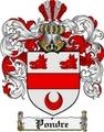 Thumbnail Pondre Family Crest  Pondre Coat of Arms