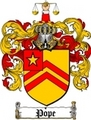 Thumbnail Pope Family Crest / Pope Coat of Arms