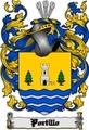 Thumbnail Portillo Family Crest  Portillo Coat of Arms Digital Download