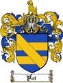 Thumbnail Pot Family Crest  Pot Coat of Arms