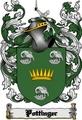 Thumbnail Pottinger Family Crest  Pottinger Coat of Arms Digital Download