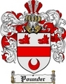 Thumbnail Pounder Family Crest  Pounder Coat of Arms