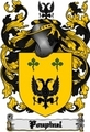 Thumbnail Poupinel Family Crest  Poupinel Coat of Arms Digital Download