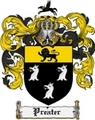 Thumbnail Preater Family Crest  Preater Coat of Arms
