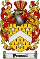 Thumbnail Pressnell Family Crest  Pressnell Coat of Arms Digital Download