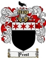 Thumbnail Prest Family Crest  Prest Coat of Arms