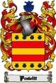 Thumbnail Prewitt Family Crest  Prewitt Coat of Arms Digital Download
