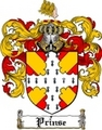 Thumbnail Prinse Family Crest  Prinse Coat of Arms