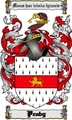 Thumbnail Proby Family Crest  Proby Coat of Arms Digital Download