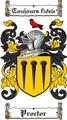 Thumbnail Proctor Family Crest  Proctor Coat of Arms Digital Download