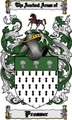 Thumbnail Prosser Family Crest  Prosser Coat of Arms Digital Download