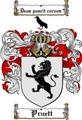 Thumbnail Pruett Family Crest  Pruett Coat of Arms