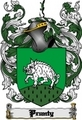 Thumbnail Prunty Family Crest  Prunty Coat of Arms Digital Download