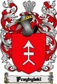 Thumbnail Przybylski Family Crest  Przybylski Coat of Arms Digital Download
