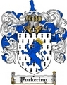 Thumbnail Puckering Family Crest  Puckering Coat of Arms