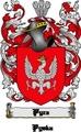 Thumbnail Pyrz Family Crest  Pyrz Coat of Arms Digital Download