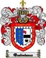 Thumbnail Quebedeaux Family Crest  Quebedeaux Coat of Arms Digital Download