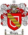 Thumbnail Quigly Family Crest  Quigly Coat of Arms