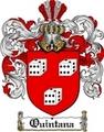 Thumbnail Quintana Family Crest  Quintana Coat of Arms Digital Download