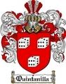 Thumbnail Quintanilla Family Crest  Quintanilla Coat of Arms