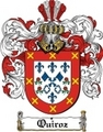 Thumbnail Quiroz Family Crest  Quiroz Coat of Arms