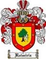 Thumbnail Raimiriz Family Crest  Raimiriz Coat of Arms