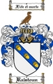Thumbnail Ralstoun Family Crest  Ralstoun Coat of Arms
