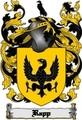Thumbnail Rapp Family Crest  Rapp Coat of Arms Digital Download